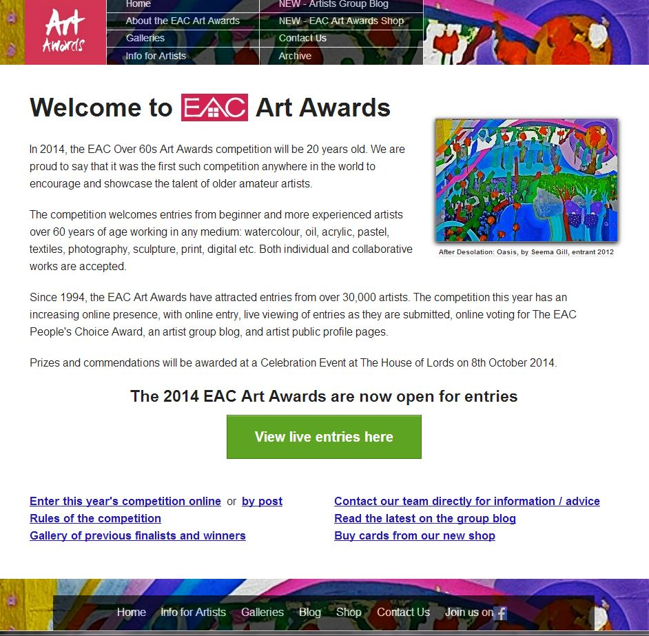 EAC Art Awards 3rd website 2014